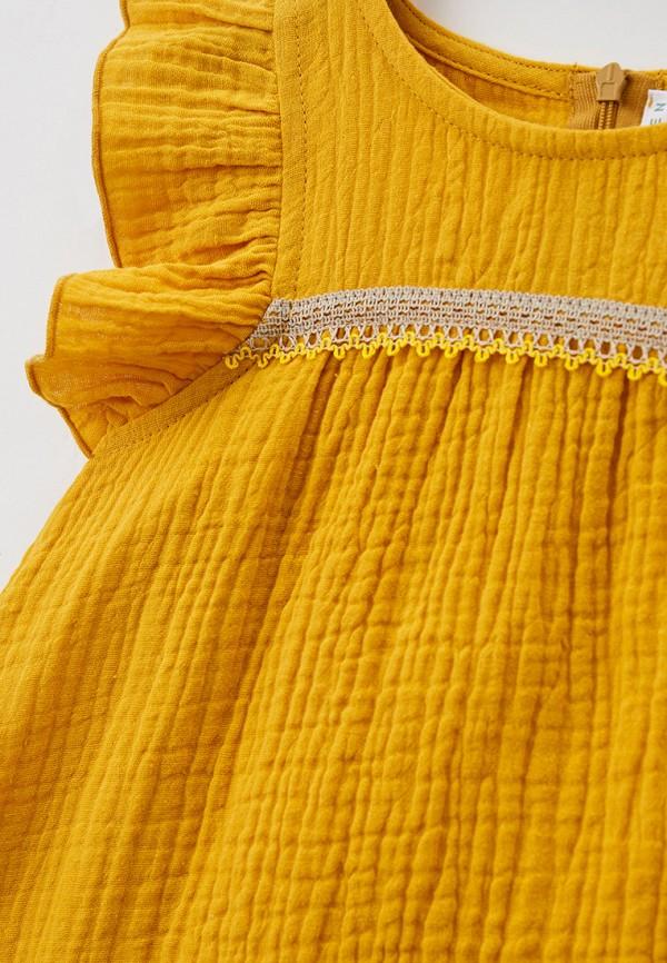 Платья для девочки Ete Children цвет желтый  Фото 3