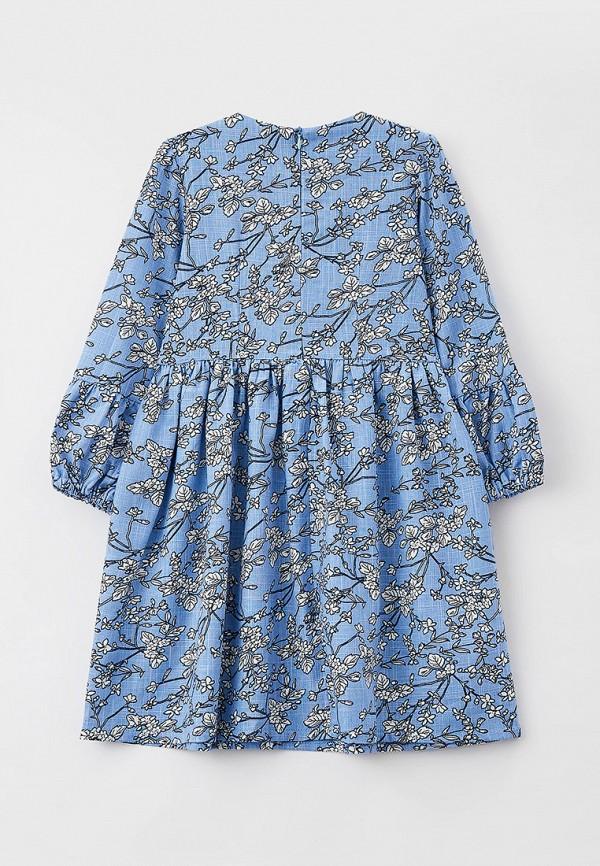 Платья для девочки Ete Children цвет голубой  Фото 2
