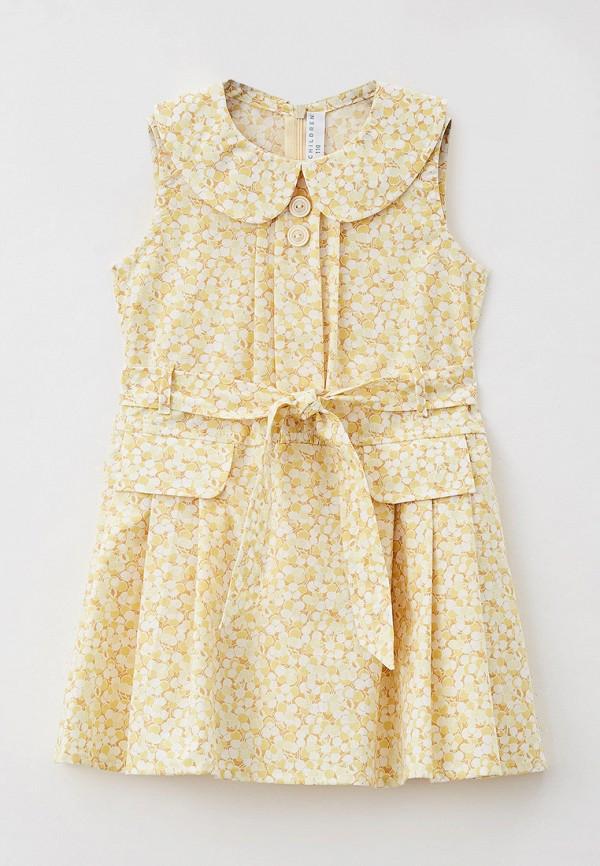 Платья для девочки Ete Children цвет желтый