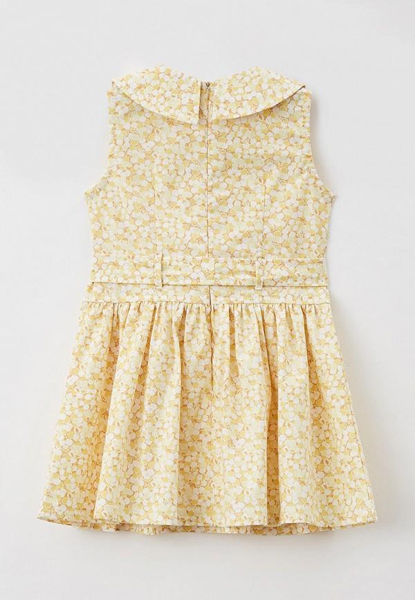 Платья для девочки Ete Children цвет желтый  Фото 2