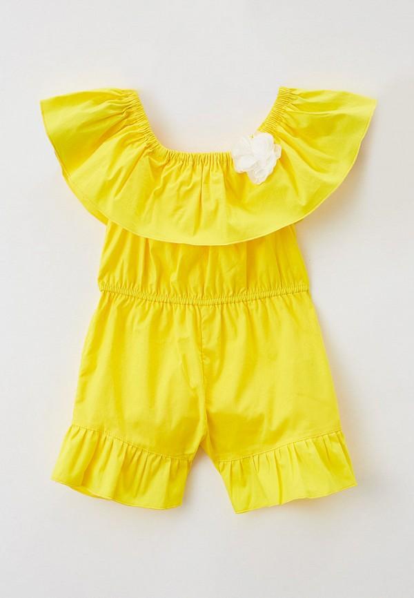 Детский комбинезон Ete Children цвет желтый
