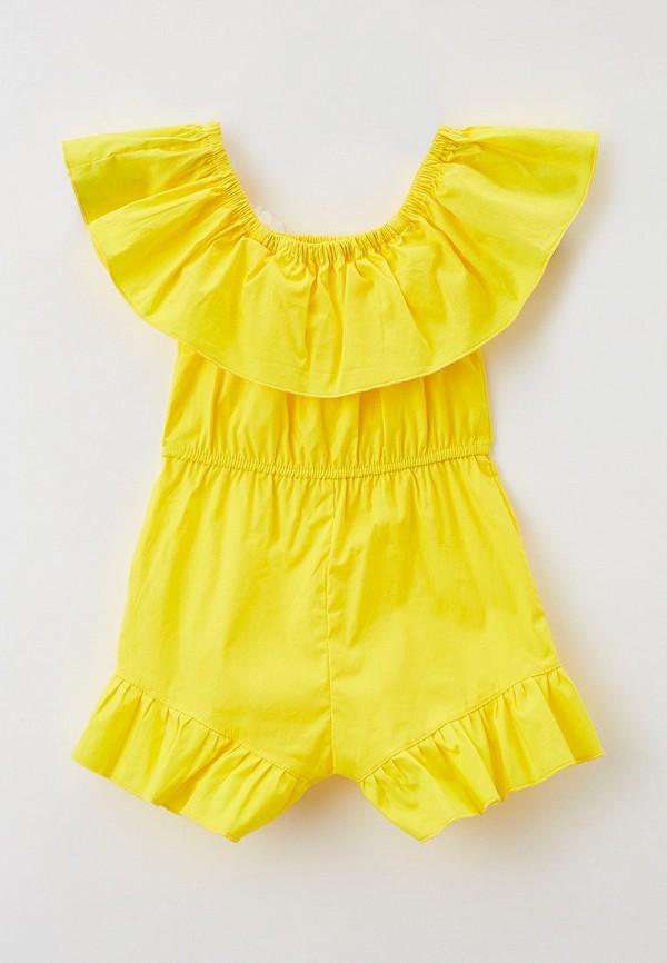 Детский комбинезон Ete Children цвет желтый  Фото 2