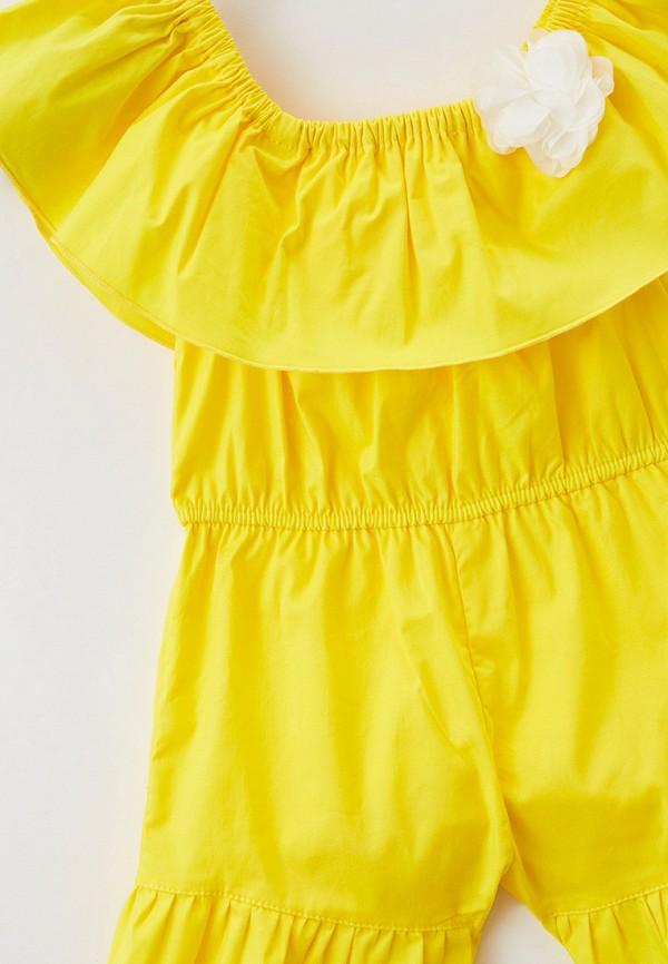 Детский комбинезон Ete Children цвет желтый  Фото 3