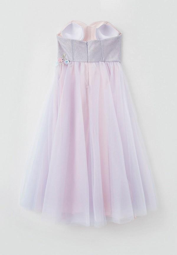 Платья для девочки Choupette цвет фиолетовый  Фото 2