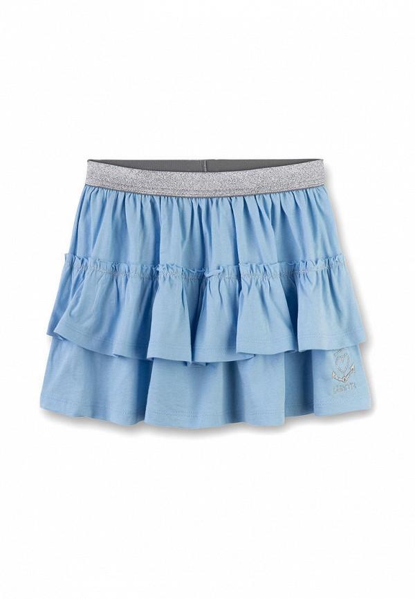 юбка sanetta для девочки, голубая