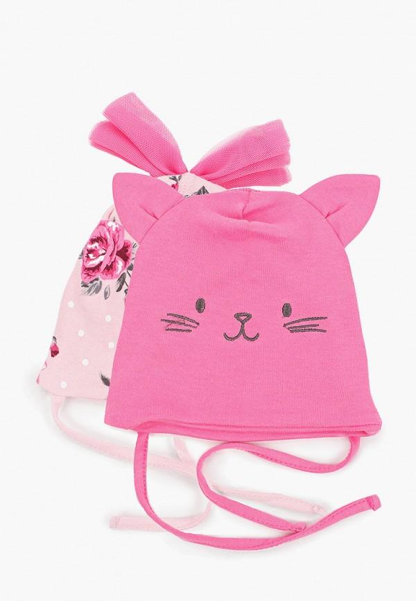 шапка playtoday для девочки, розовая