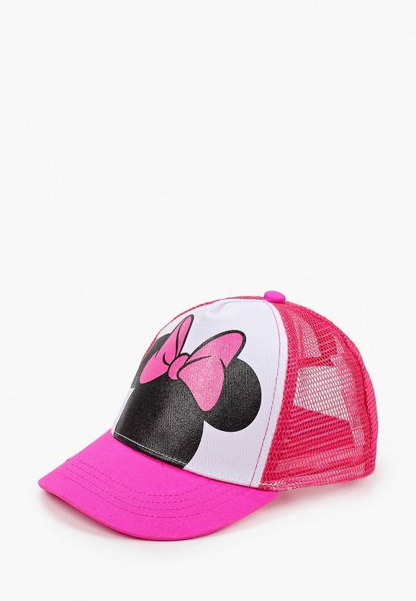 бейсболка playtoday для девочки, розовая