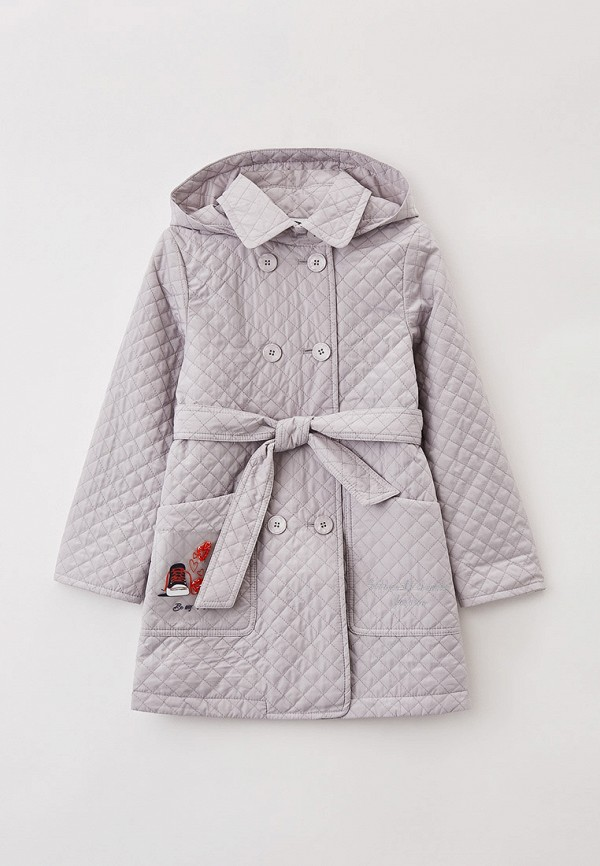 Куртка для девочки утепленная Артус цвет серый