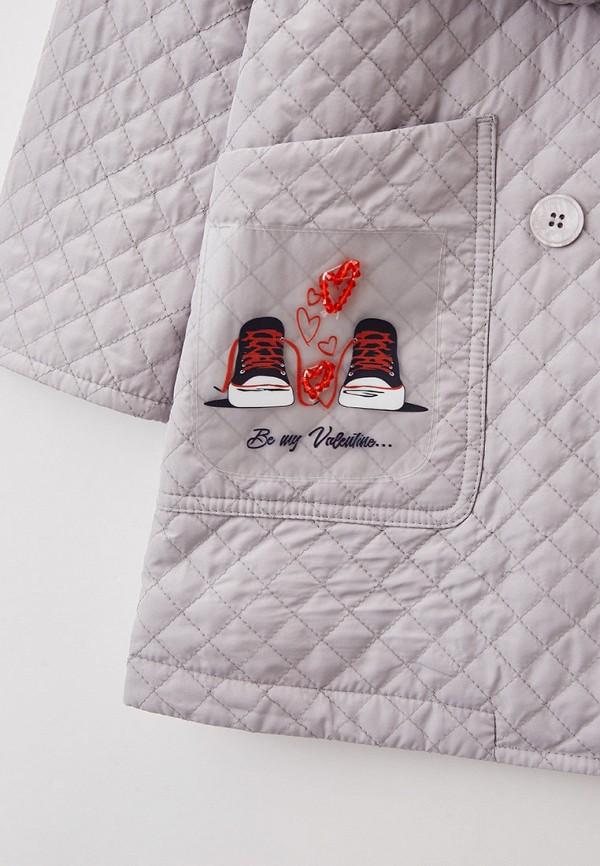 Куртка для девочки утепленная Артус цвет серый  Фото 3