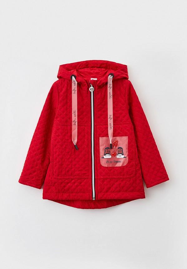 Куртка для девочки утепленная Артус цвет красный