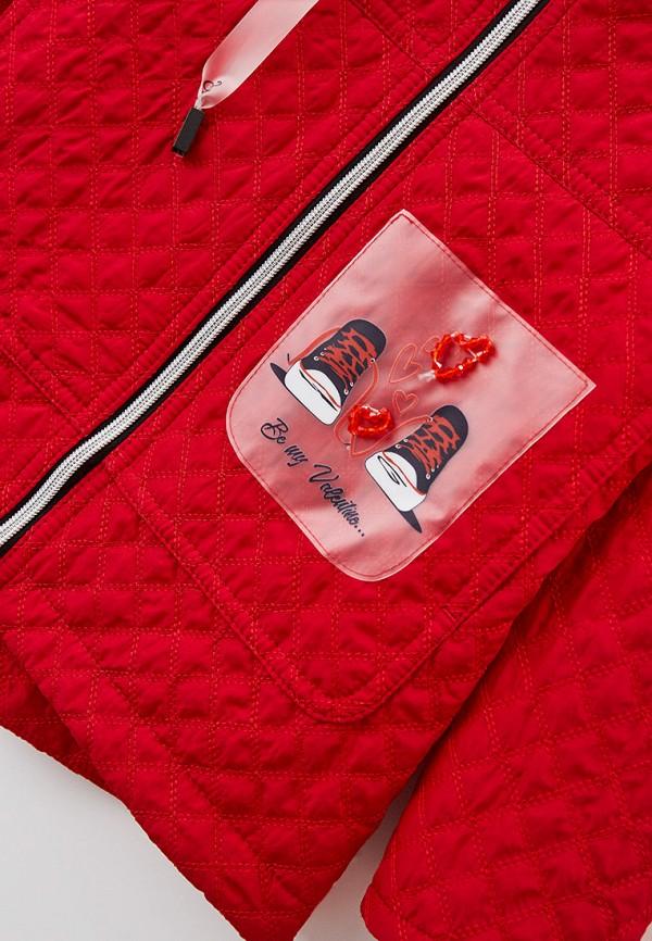 Куртка для девочки утепленная Артус цвет красный  Фото 3