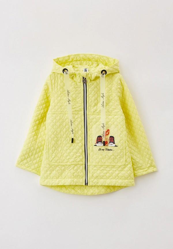 Куртка для девочки Артус цвет желтый