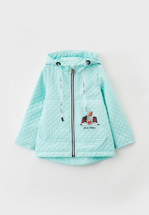 Куртка для девочки утепленная Артус цвет бирюзовый