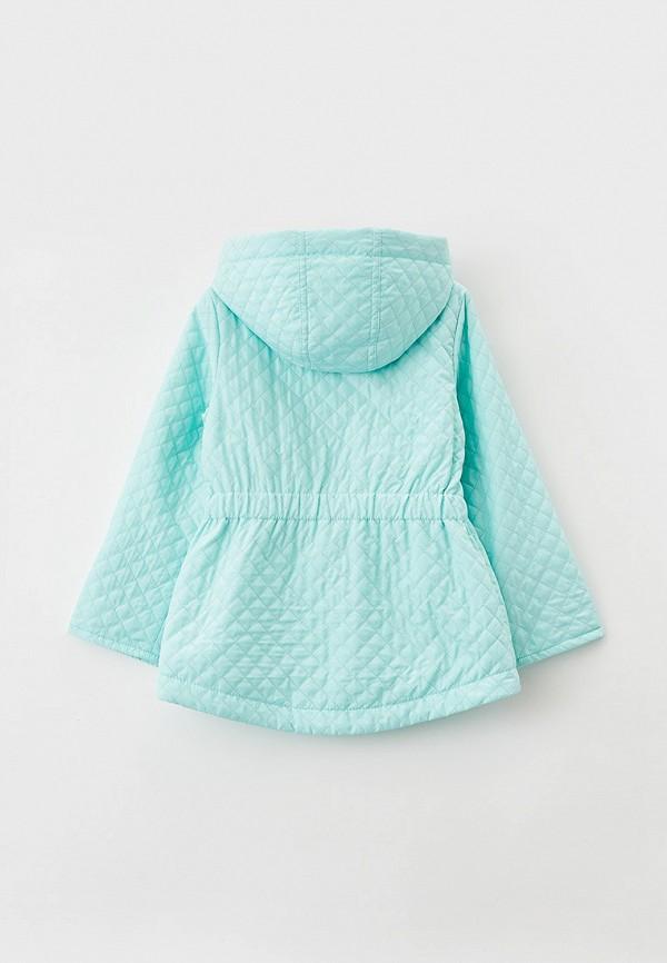 Куртка для девочки утепленная Артус цвет бирюзовый  Фото 2