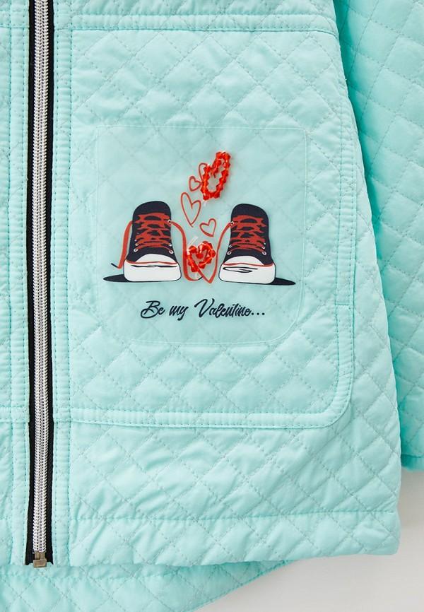 Куртка для девочки утепленная Артус цвет бирюзовый  Фото 3