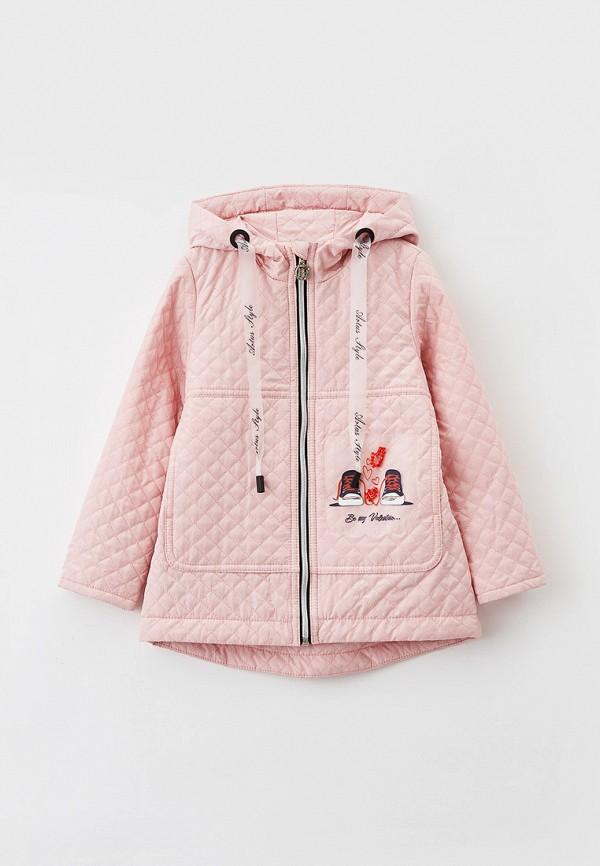 Куртка для девочки утепленная Артус цвет розовый