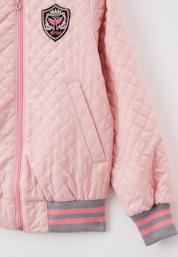 Куртка для девочки утепленная Артус цвет розовый  Фото 3