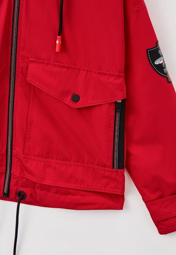 Куртка для девочки Артус цвет красный  Фото 3