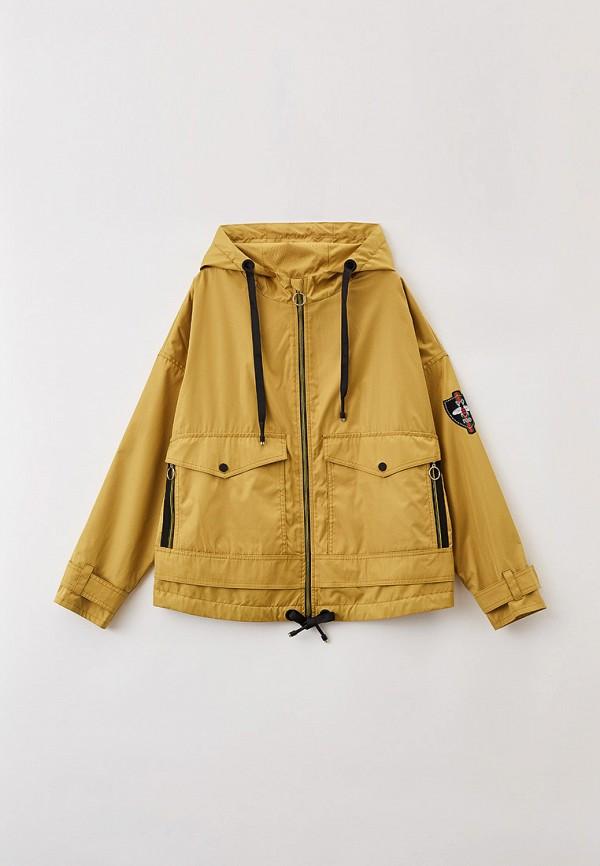 легкие куртка артус для девочки, зеленая