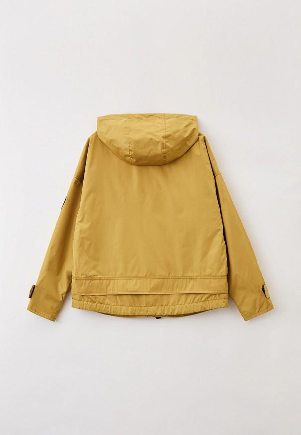Куртка для девочки Артус цвет зеленый  Фото 2