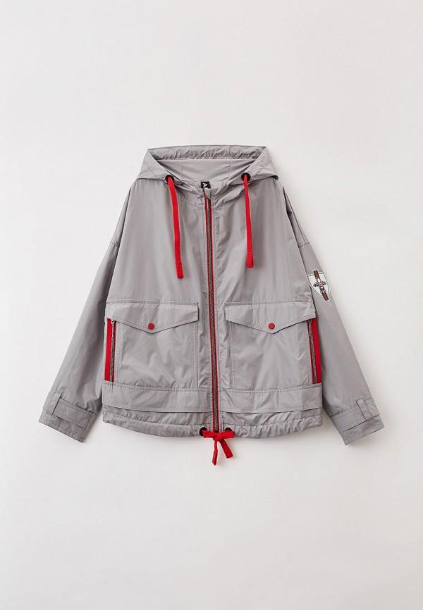 легкие куртка артус для девочки, серая