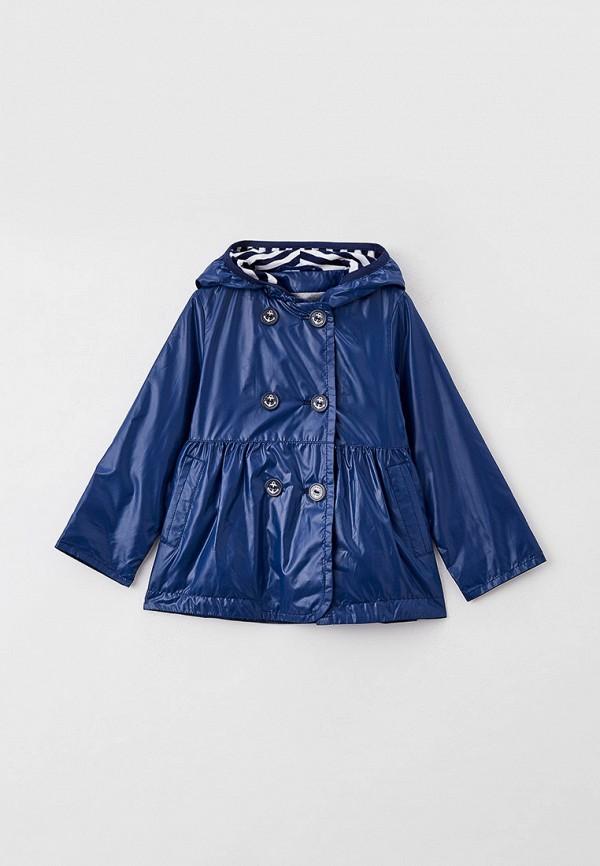 легкие куртка артус для девочки, синяя
