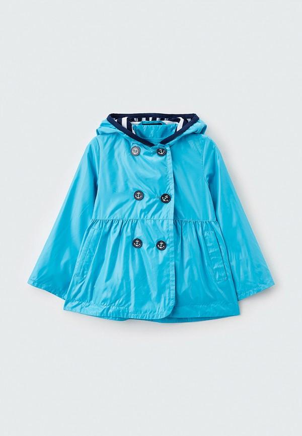 легкие куртка артус для девочки, голубая