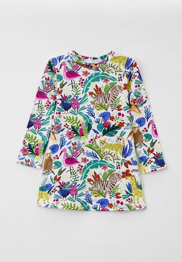 Платья для девочки Ete Children цвет разноцветный