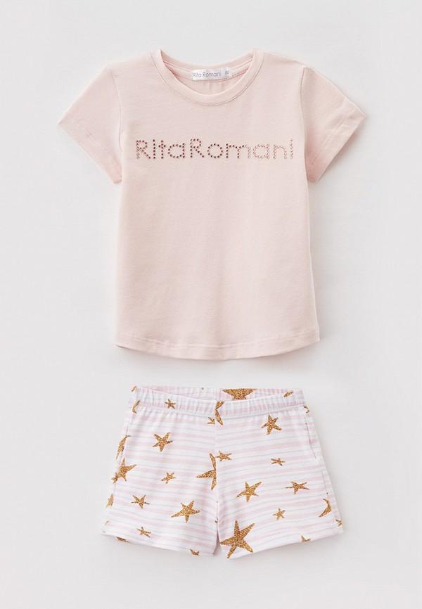 Пижама Ritta Romani Ritta Romani  розовый фото