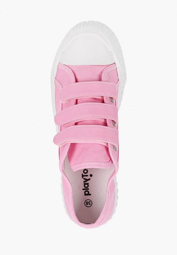 Кеды для девочки PlayToday цвет розовый  Фото 4