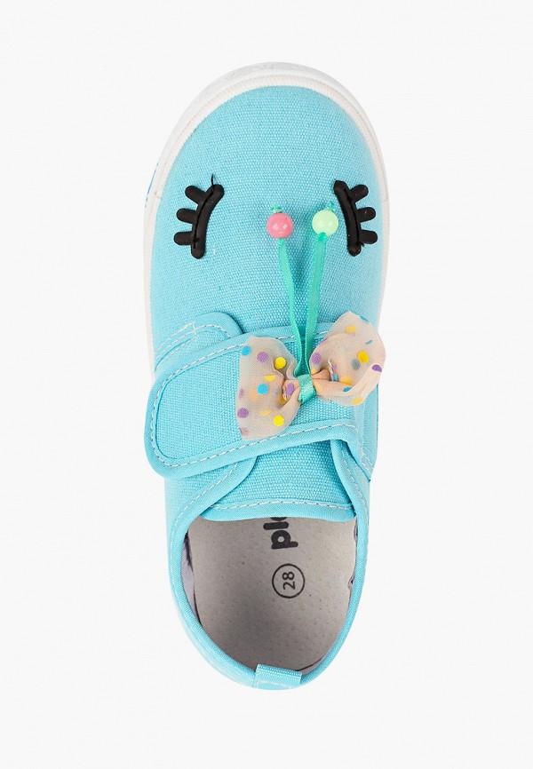 Кеды для девочки PlayToday цвет бирюзовый  Фото 4