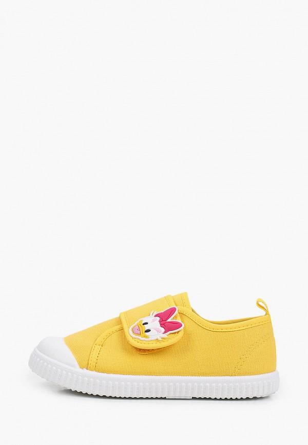 Кеды для девочки PlayToday цвет желтый