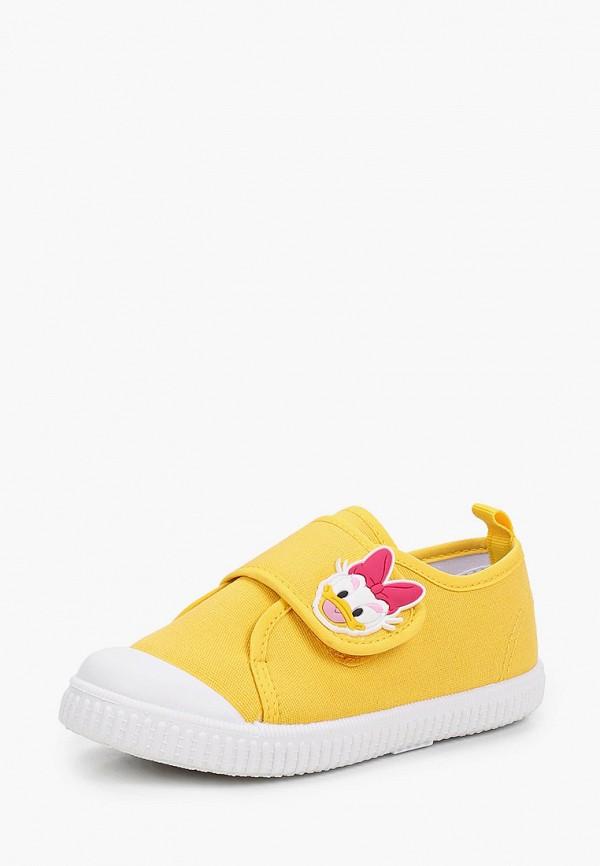 Кеды для девочки PlayToday цвет желтый  Фото 2