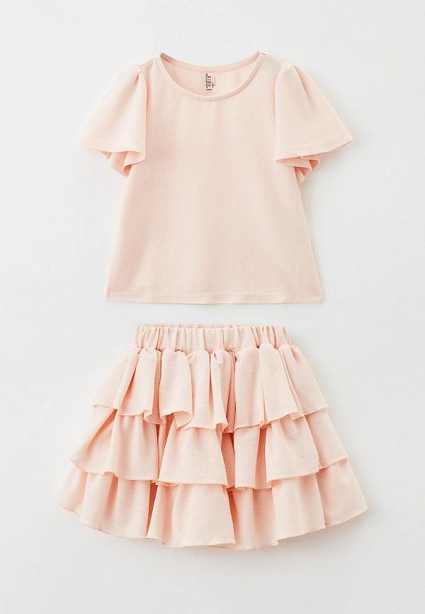 костюм defacto для девочки, розовый