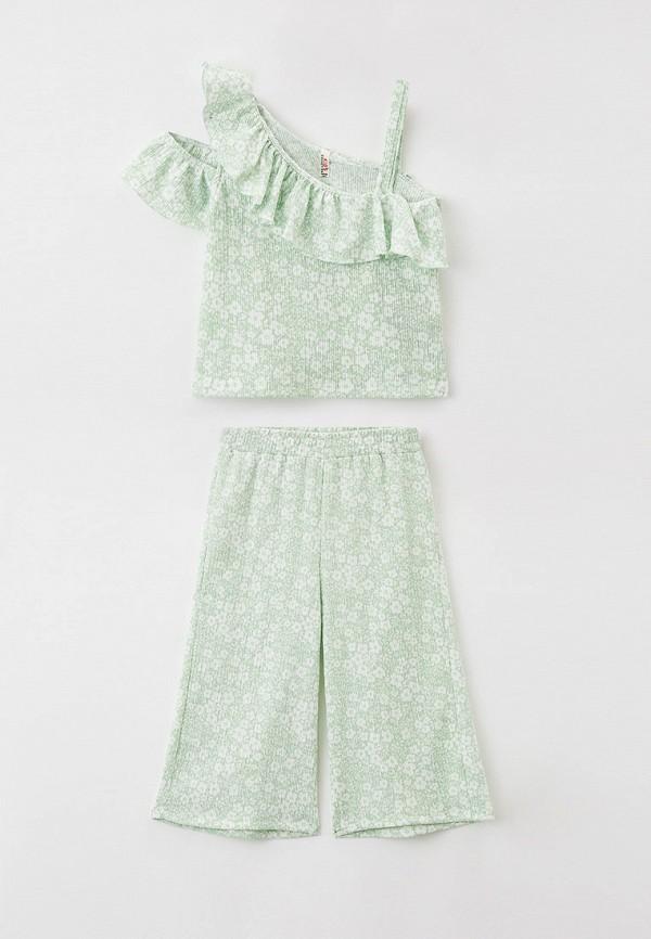 костюм defacto для девочки, зеленый