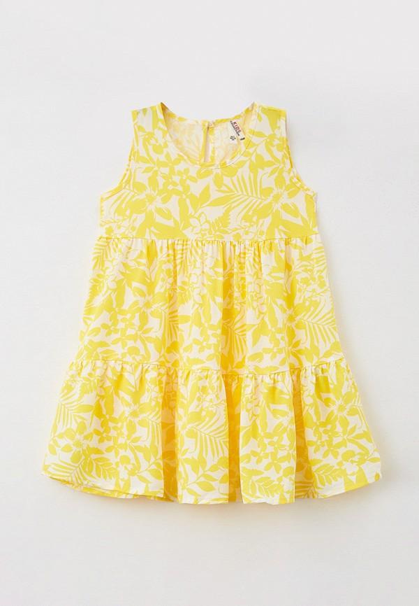 Платья для девочки DeFacto цвет желтый