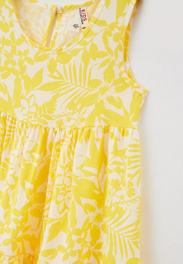 Платья для девочки DeFacto цвет желтый  Фото 3