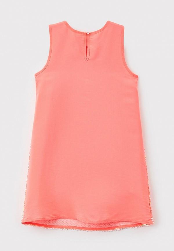 Платья для девочки Acoola цвет коралловый  Фото 2