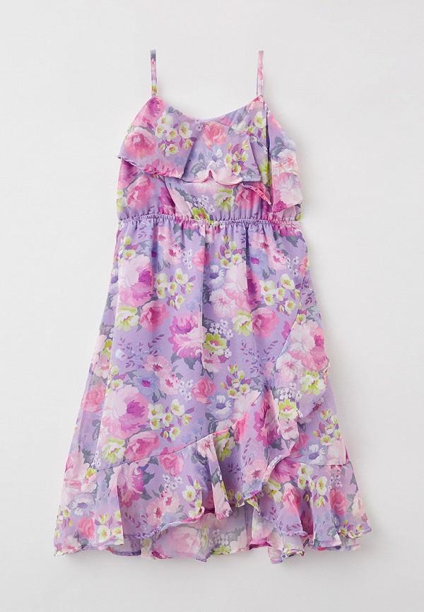 Платья для девочки DeFacto цвет фиолетовый