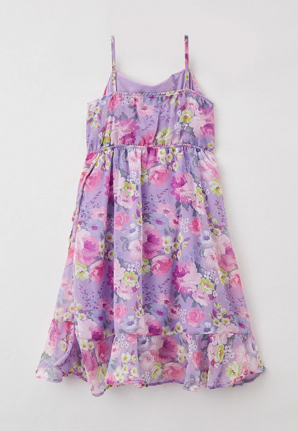 Платья для девочки DeFacto цвет фиолетовый  Фото 2