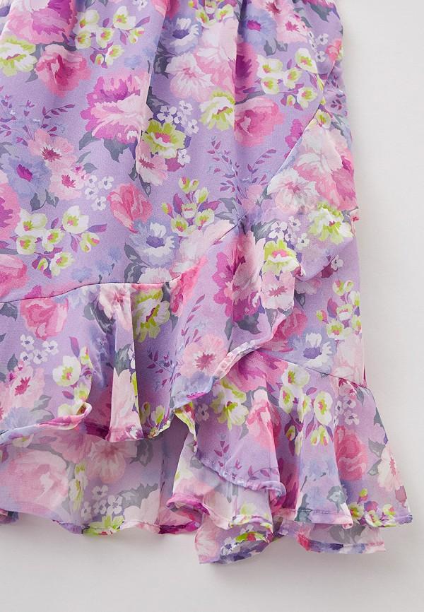 Платья для девочки DeFacto цвет фиолетовый  Фото 3
