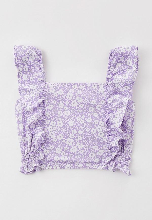 Костюм для девочки DeFacto цвет фиолетовый  Фото 2