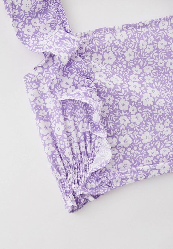 Костюм для девочки DeFacto цвет фиолетовый  Фото 3