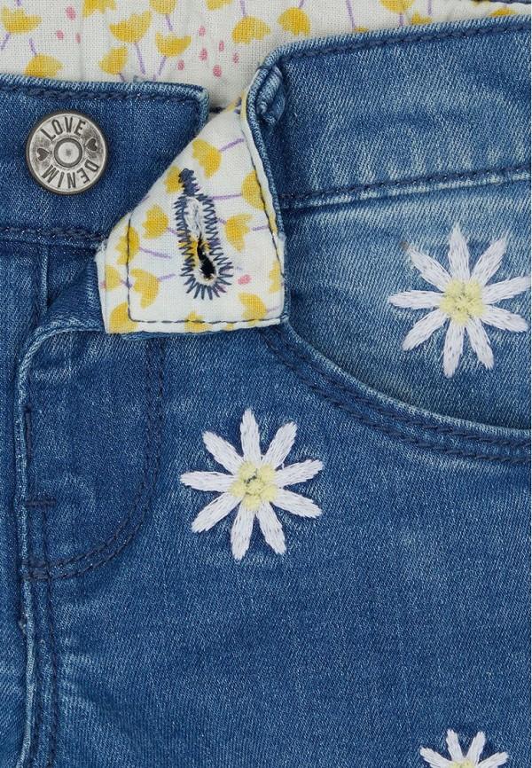 Джинсы для девочки Mothercare цвет синий  Фото 3