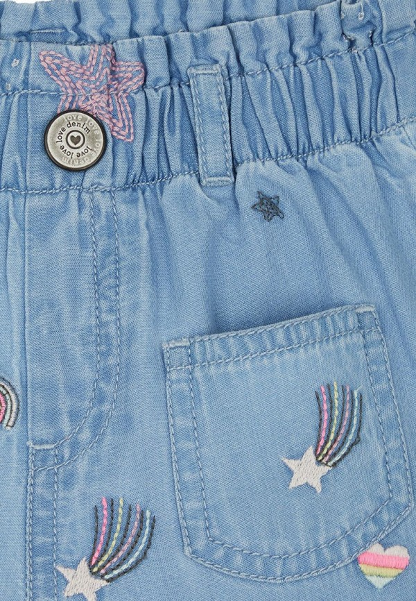 Брюки для девочки Mothercare цвет голубой  Фото 3
