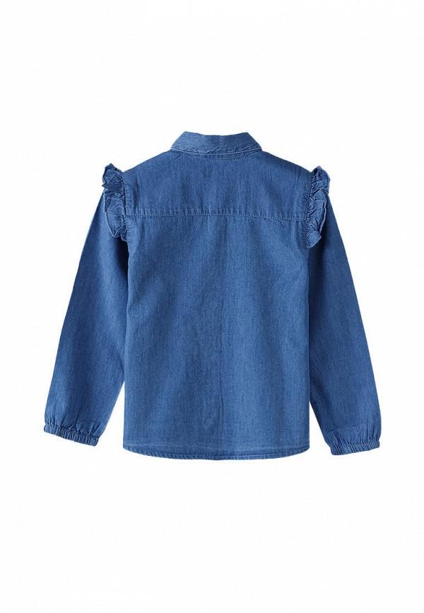 Рубашка для девочки 5.10.15 цвет синий  Фото 2