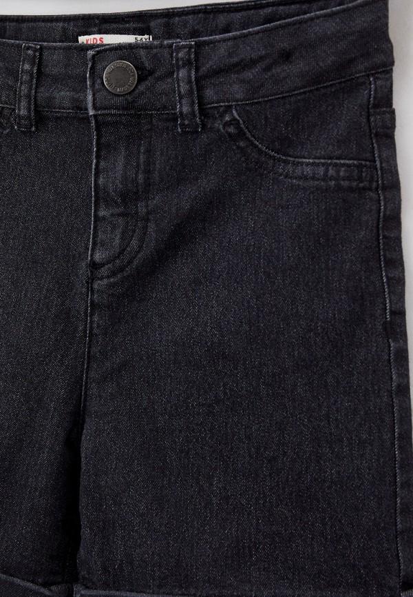 Шорты для девочки джинсовые DeFacto цвет серый  Фото 3