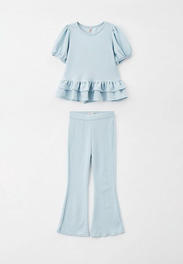 костюм defacto для девочки, голубой