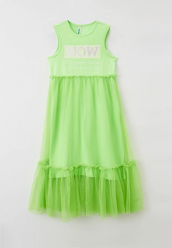 Платья для девочки Acoola цвет зеленый