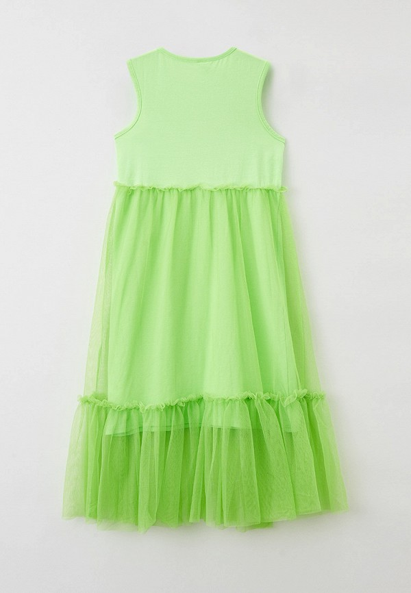 Платья для девочки Acoola цвет зеленый  Фото 2